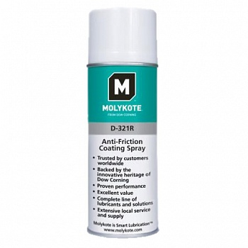 Смазка Molykote Polygliss-N Oil Spray  (400 ml)